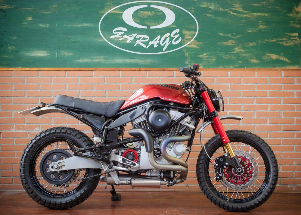 Buell m2 cyclone scrambler by cd garage motorcycles for Garage moto 91