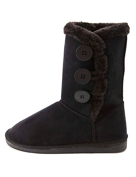 7046e702b230 ... Mid-Calf Boots  Charlotte Russe...I feel like I have to have a pair of  these for winter. I know they re fugly but oh so practical   comfortable.