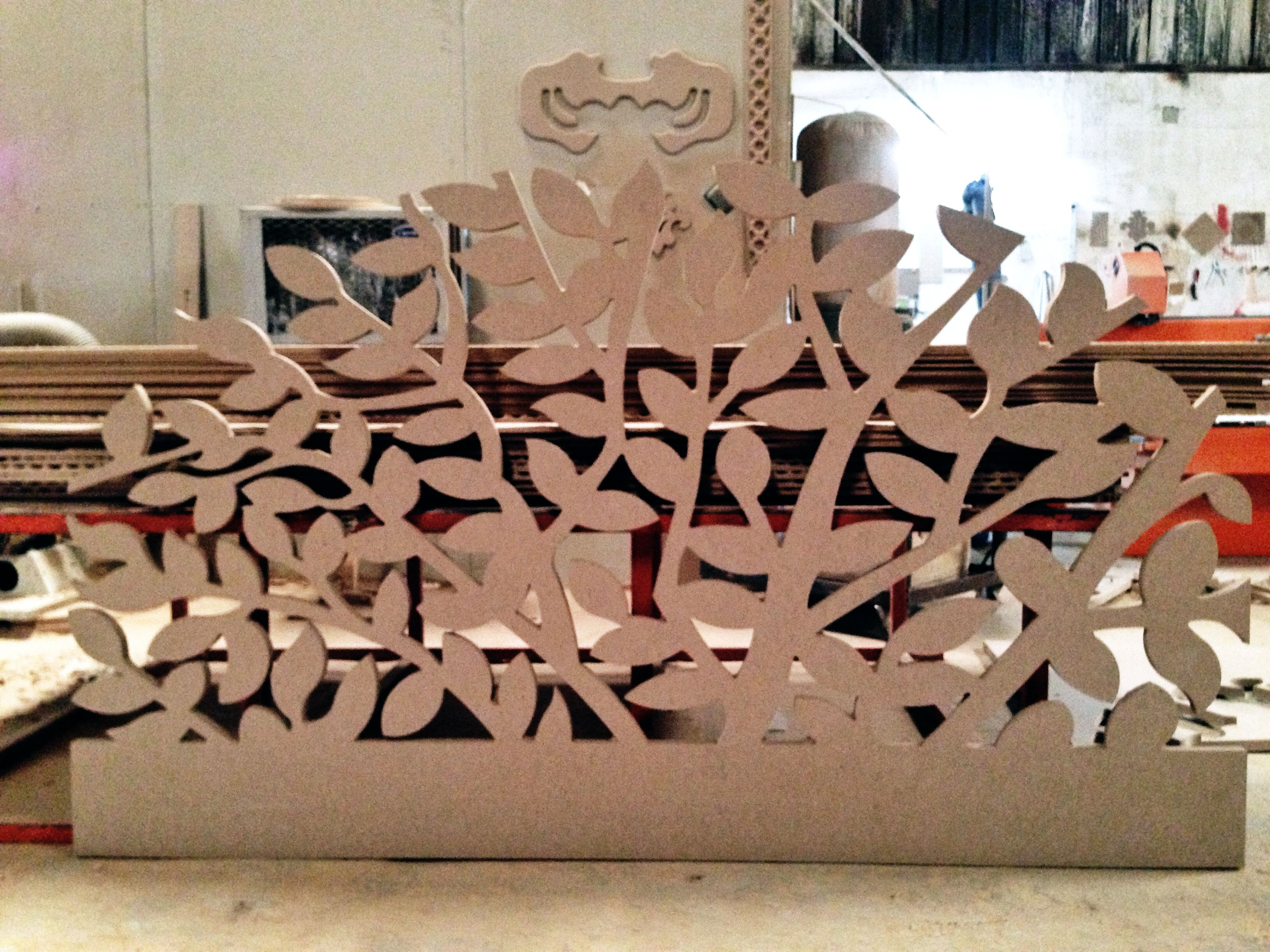 Headboard 25mm Mdf Cut By Cnc Router Cnc Designers