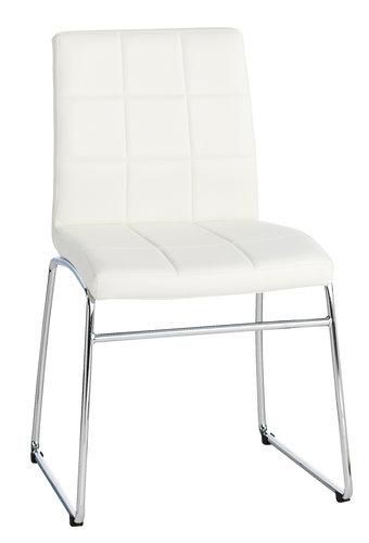 ruokapöydän tuoli hammel valkkromi  jysk  chair