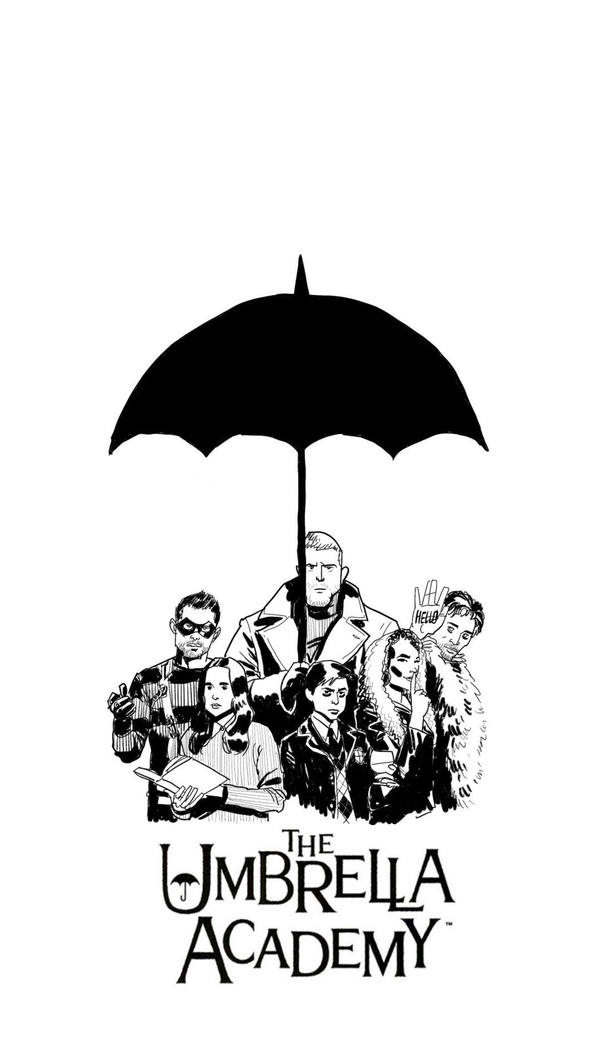 Umbrella Academy Wallpaper Umbrella Academy Under My Umbrella