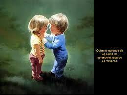 Resultado de imagen de el amor es como un niño