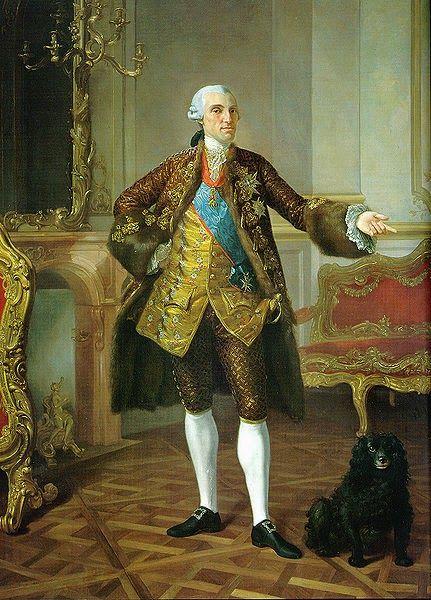 El Infante Felipe de Borbón y Farnesio,duque de Parma