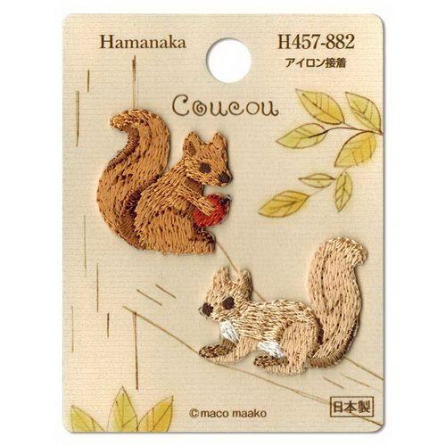 松鼠 熨貼 | 日本進口和布材料包 | 手作仔 HandCrafters --- 手工藝專門店