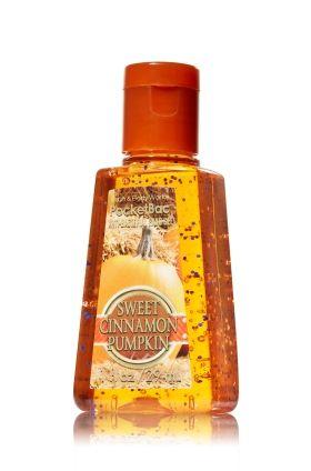 Sweet Cinnamon Pumpkin Pocketbac Sanitizing Hand Gel Soap