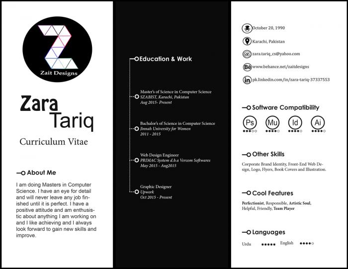 Zara Tariq Cv Pinterest