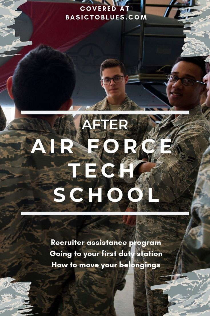 What Happens After Tech School (With images) Air force