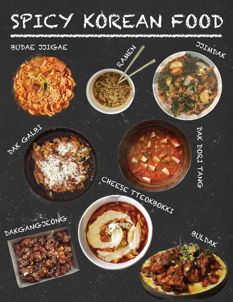 Spicy Korean Food That Make Our Mouths Water Spicy Korean Food Korean Food Spicy Korean