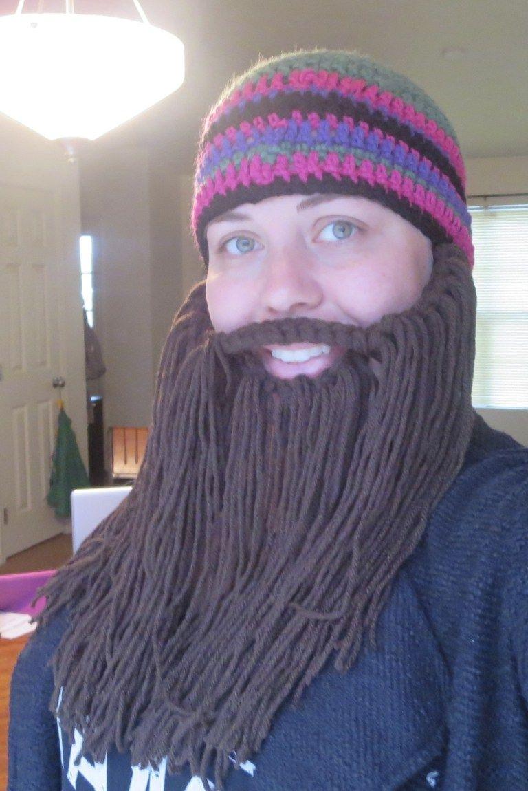 Easy Crochet Toddler, Child, Adult Beard - #crochetedbeards