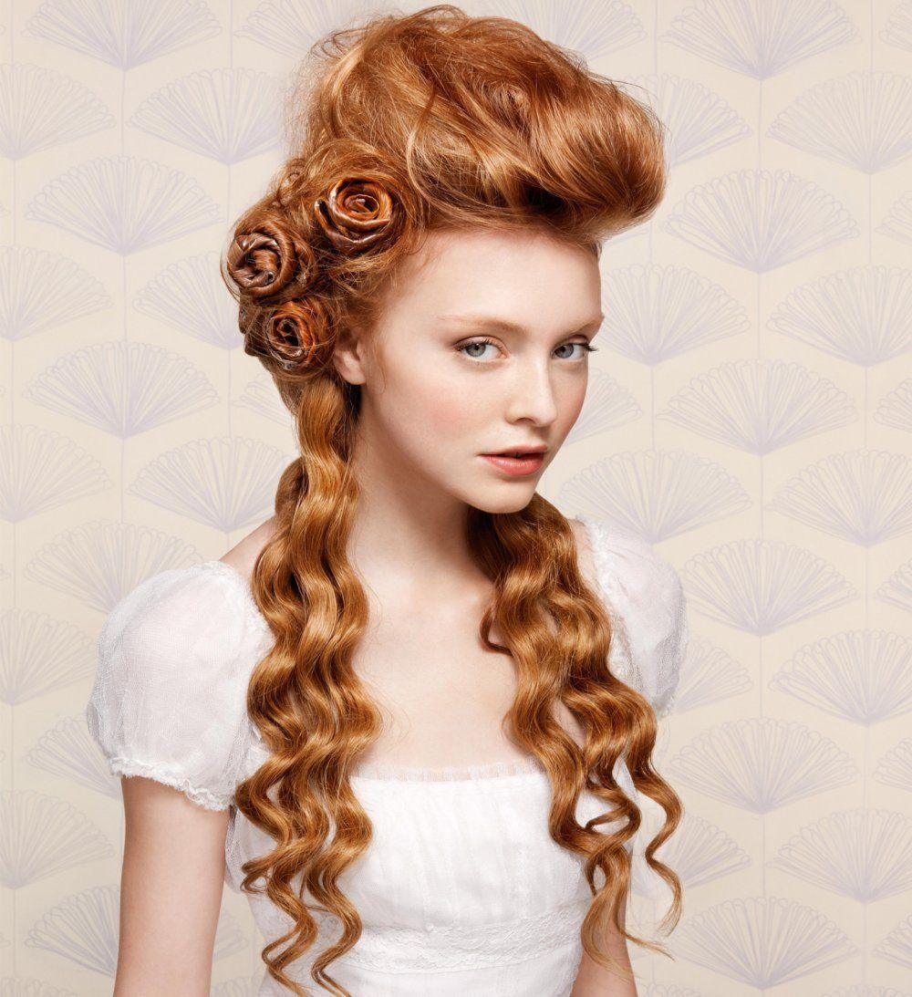 les plus belle coiffure original recherche google hairs pinterest collection coiffures. Black Bedroom Furniture Sets. Home Design Ideas