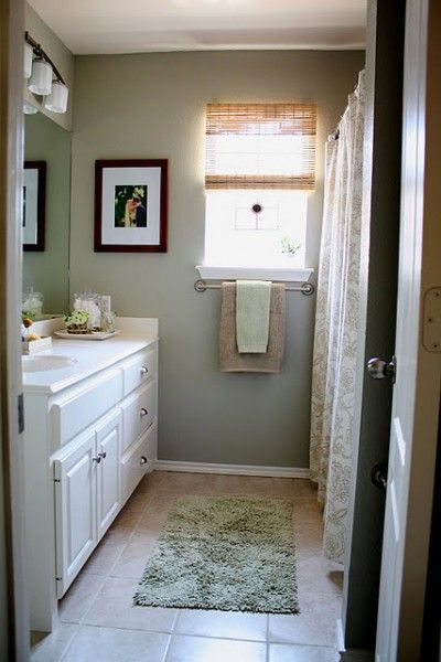 Gray Tan And White Bathroom Tiles This Color Looks Great With Their Tile Vanity