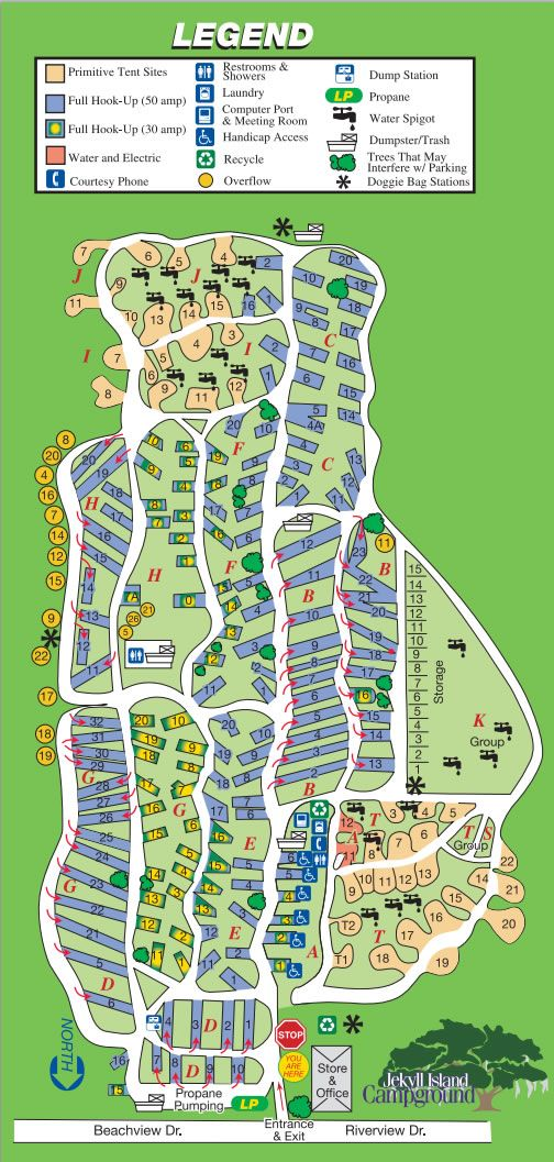 Old Forge Camping Resort Map : forge, camping, resort, Jekyll, Island, Campground, Information, Online, Reservations,, Campgro…, Campground,, Travel, Trailer, Camping,, Camping, Destinations
