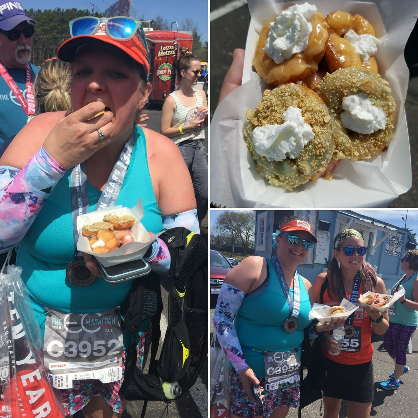 Running And Donuts! The @ecmarathon Has Them Both Covered