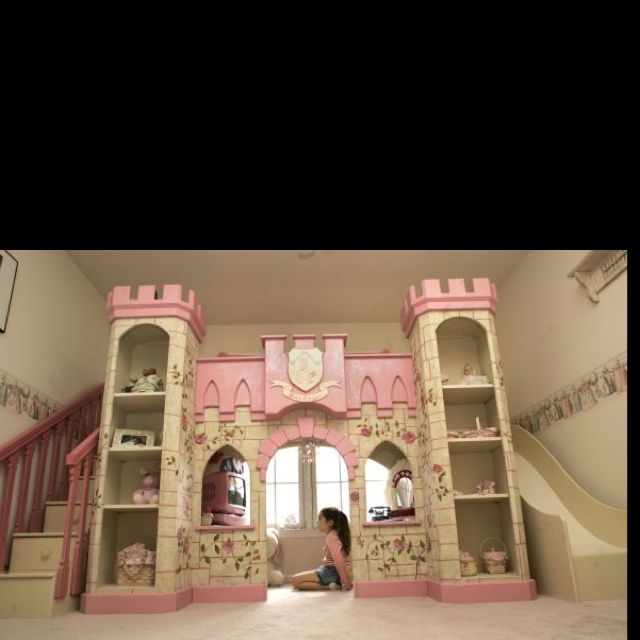 Princess Castle Bed Home Pinterest Castle Bed Princess Castle
