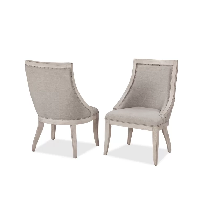 Graphite Upholstered Dining Chair In 2020 Upholstered Dining