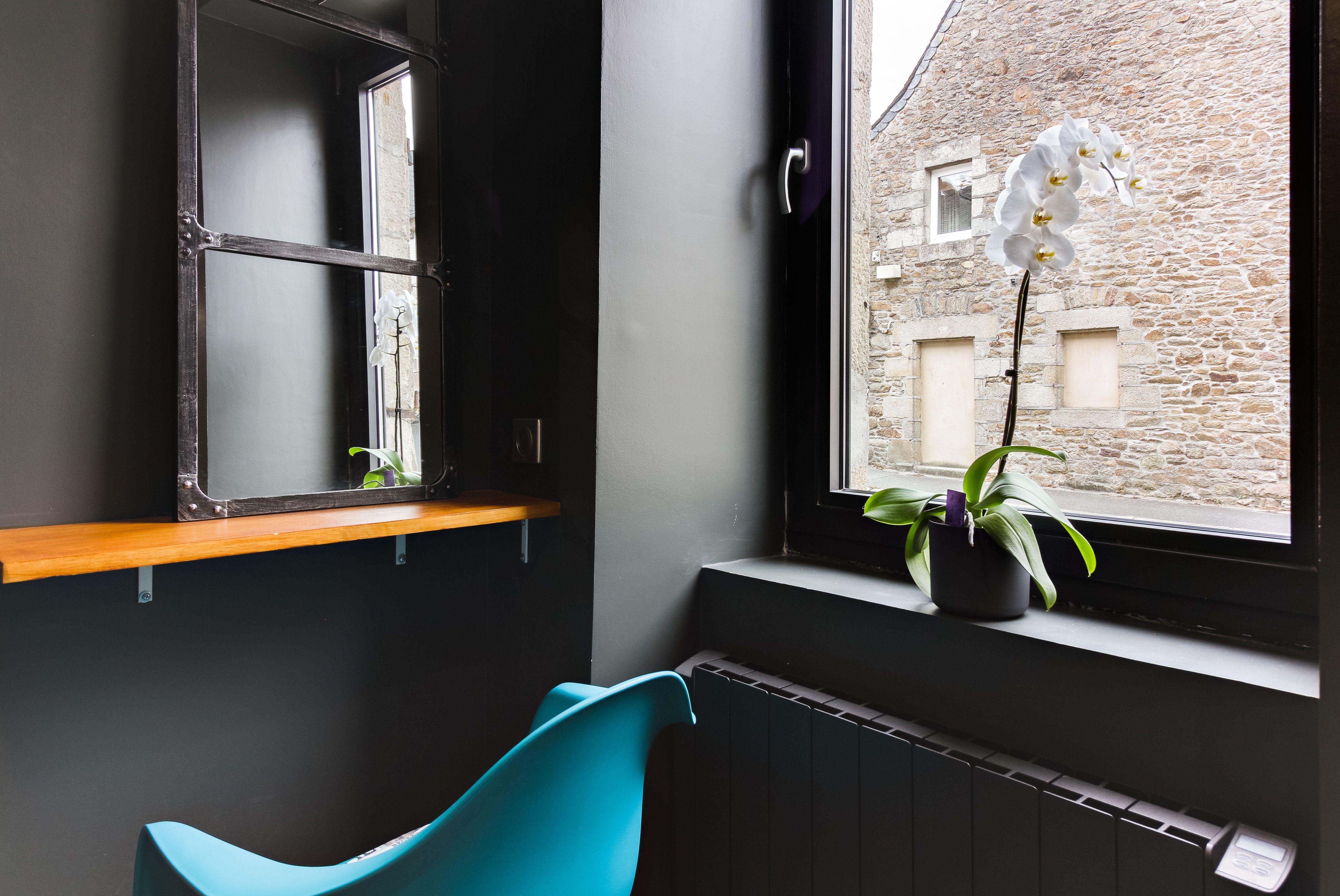 Espace Intimiste En Bleu Et Noir Koziel Maison Decoration