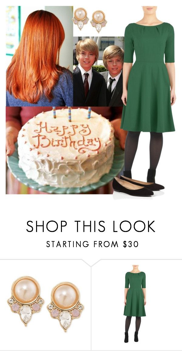 """celebrating her brothers´s 17th birthday with her family"" by princessofpeople ❤ liked on Polyvore featuring Carolee, eShakti and ESCADA"