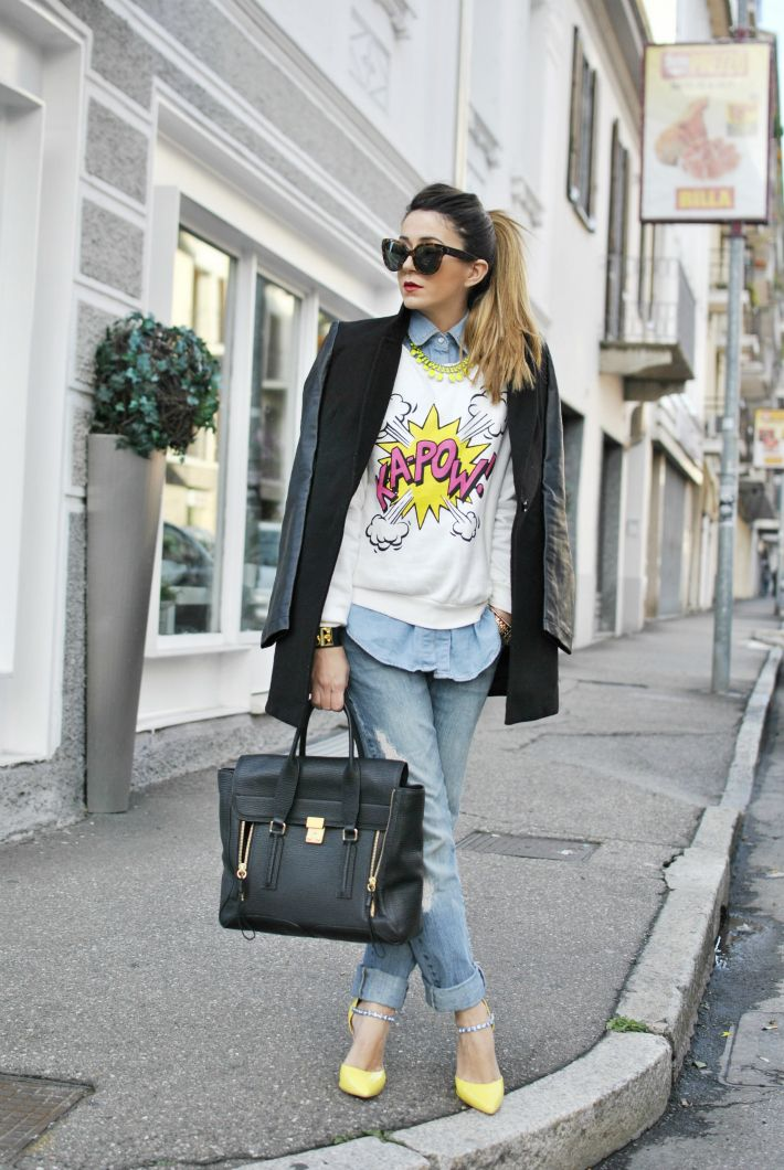#fashion #fashionista Nicoletta Scent of Obsession - Fashion Blogger daily style, travels and style tips : KA-POW!