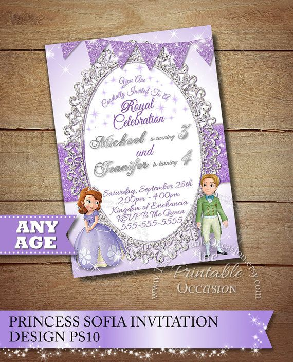 SOFIA THE FIRST BIRTHDAY INVITATIONS Do you have a big Sofia the – How to Do Birthday Invitations