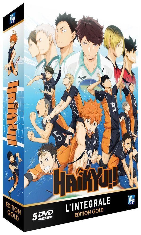 Haikyu!! Intégrale Saison 1 Edition Gold (5 DVD