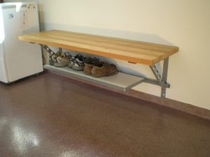 Bench With Shoe Storage Underneath