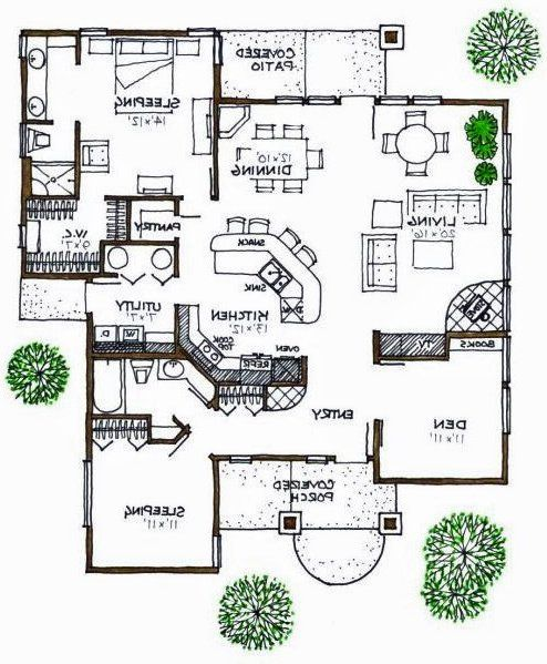 Bungalow House Plan - #Alp-07Wx - Chatham Design Group House Plans