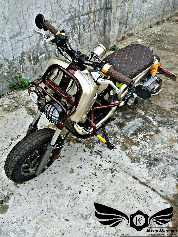 Ruckus Custom From Sym Attila 125 Made By K P Custom Zone With