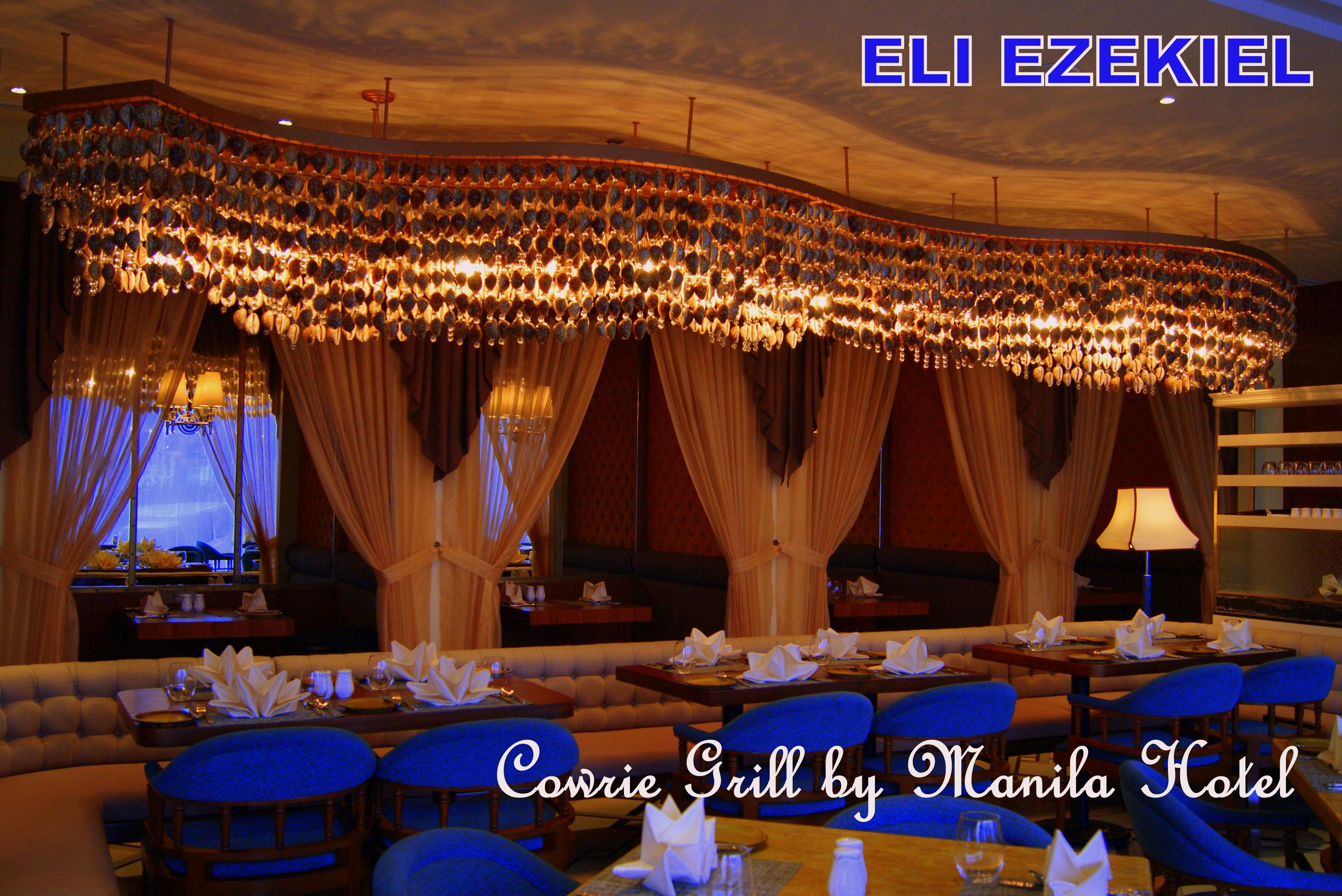 cowrie grill manila hotel menu