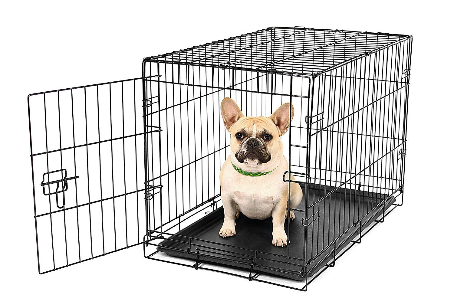 Carlson Secure And Compact Single Door Metal Dog Crate Small Quickly View This Special Dog Product Cl Small Dog Crate Wire Dog Crates Dog Cages