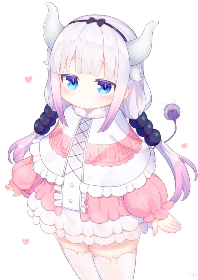 Kanna Kobayashi San Chi No Maid Dragon Awwnime Kobayashi San Chi No Maid Dragon Anime Maid Miss Kobayashi S Dragon Maid