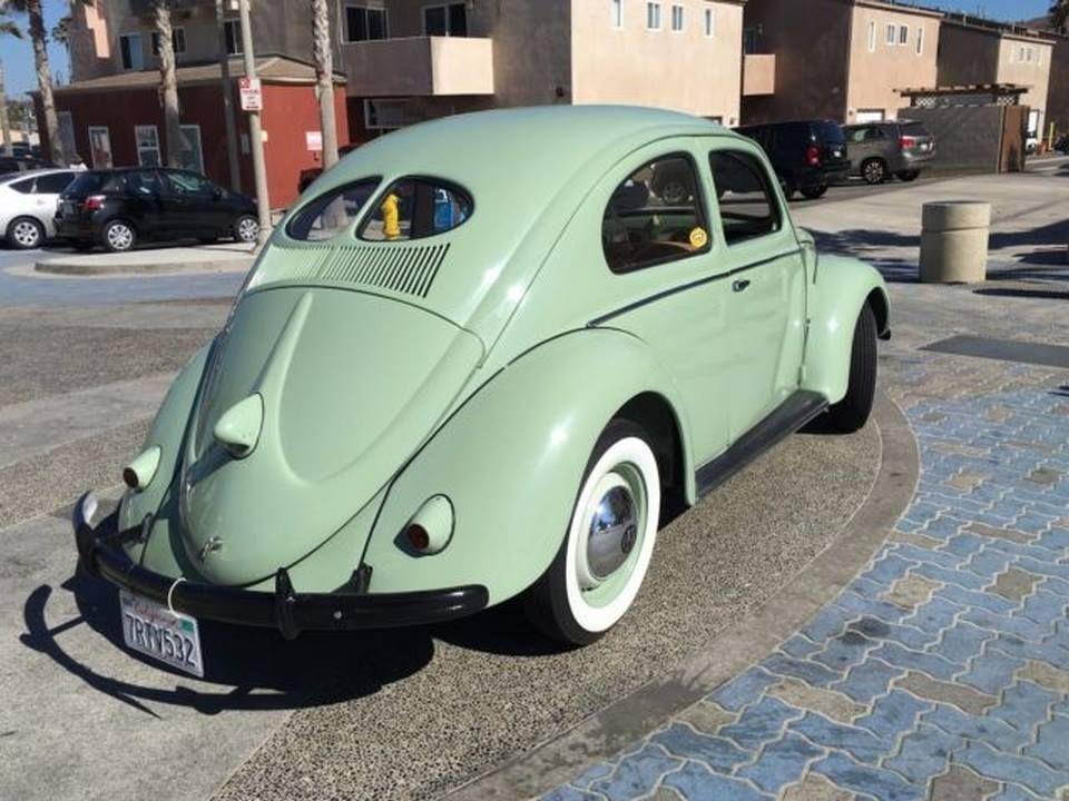 1952 Vw Beetle Split Window Volkswagen Classic Cars Volkswagen Beetle
