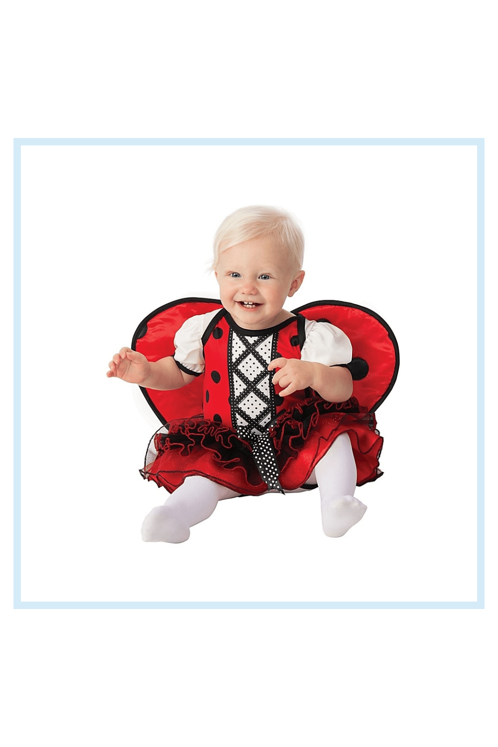 Ladybug Toddler Halloween Costume Red