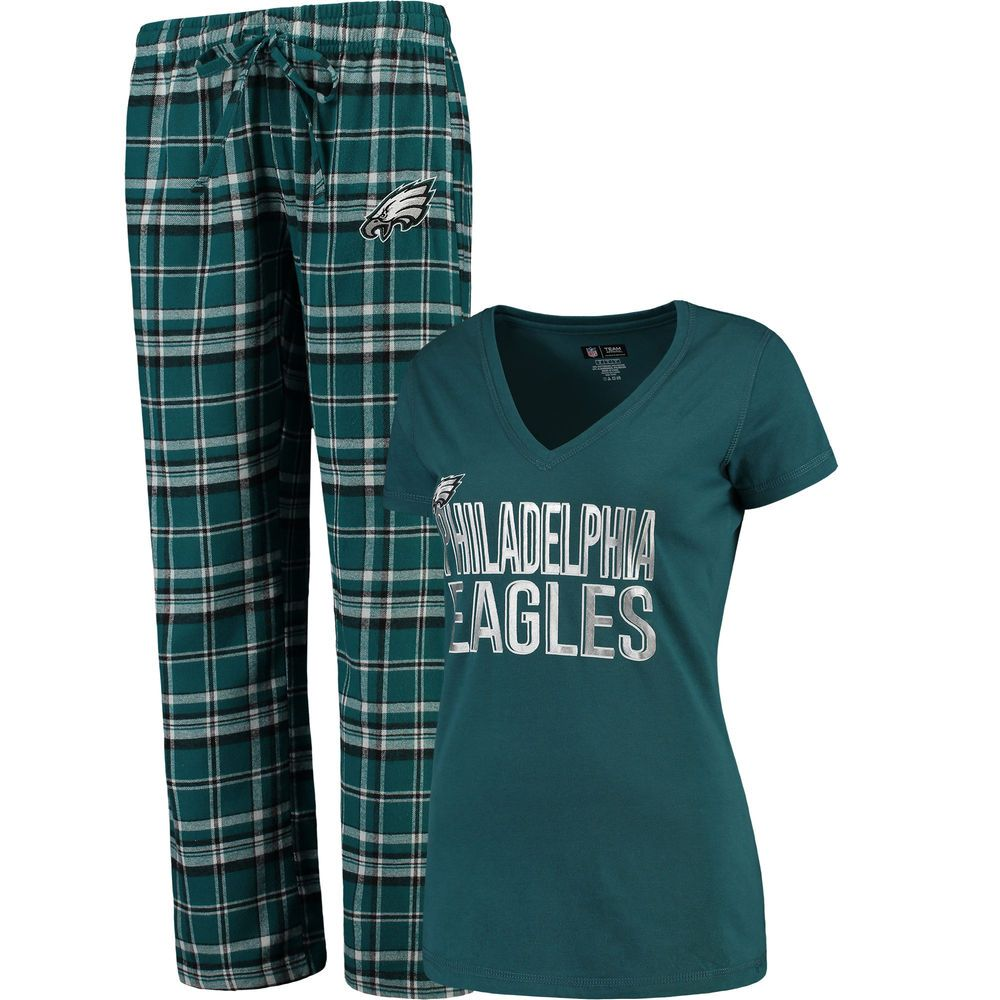 more photos a5e83 40daf Women's Concepts Sport Midnight Green Philadelphia Eagles ...
