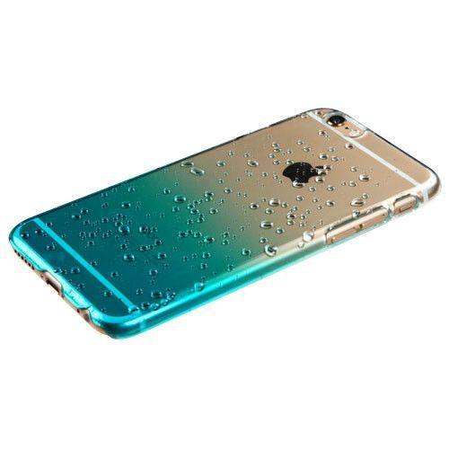 drop a pin iphone mybat gradient water drop iphone 6 transparent blue 14034