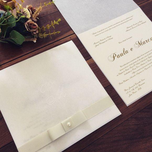 9f2fd7202c5 Envelope confeccionado em papel permanganato 250g com aplicação de brasão  em relevo seco. Cartão em