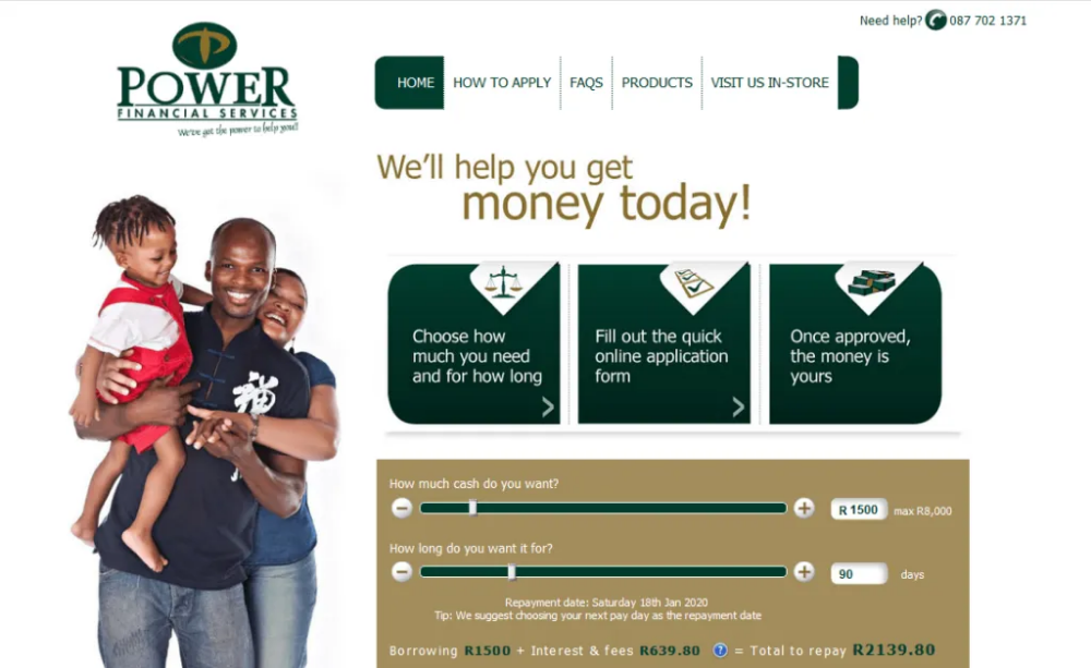 Power Payday Loans Get Loan Upto R8000 Moneytoday Payday Loans Bad Credit Personal Loans Payday Loans Online
