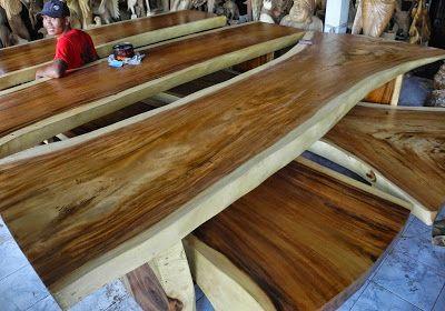 Monkey Pod Wood Table Slab Lumber Slabs