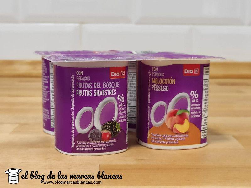Yogur Desnatado Edulcorado Con Frutas Dia En El Blog De Las Marcas Blancas Frutas Yogur Frutos Silvestres