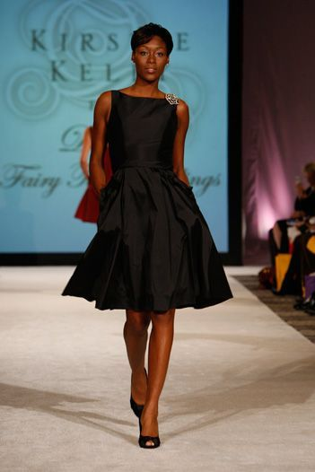 Short Black Sleeveless Satin Dress With Pockets Bridesmaid ...