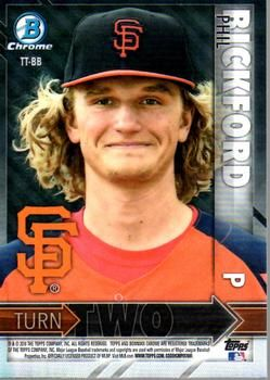 2016 Bowman - Turn Two #TT-BB Tyler Beede / Phil Bickford Back