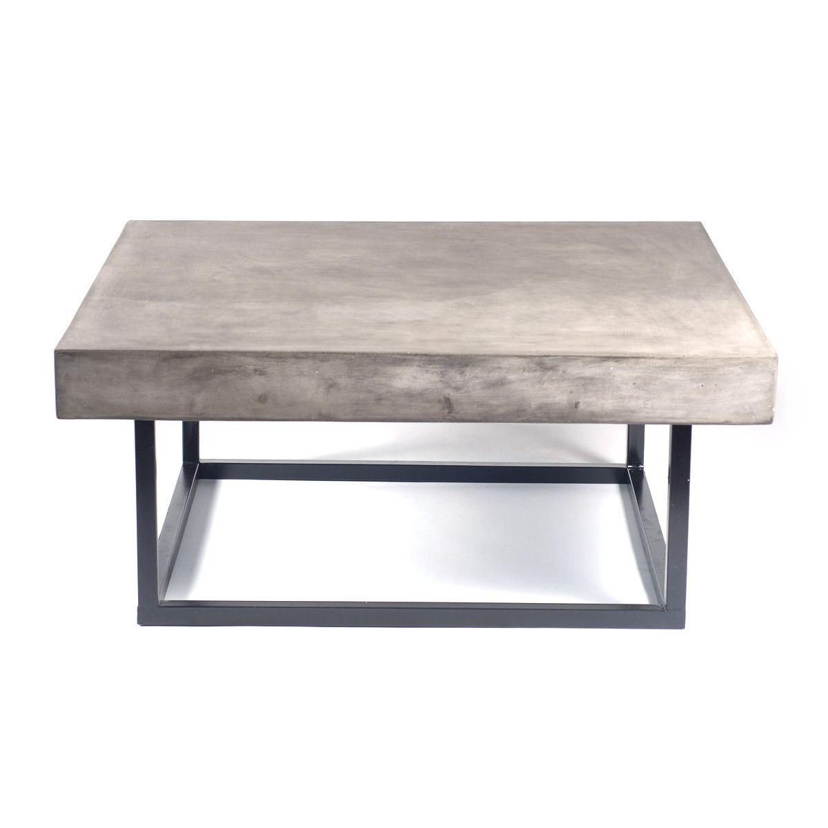 Home Coffee Tables Mia Concrete Indoor Outdoor Table