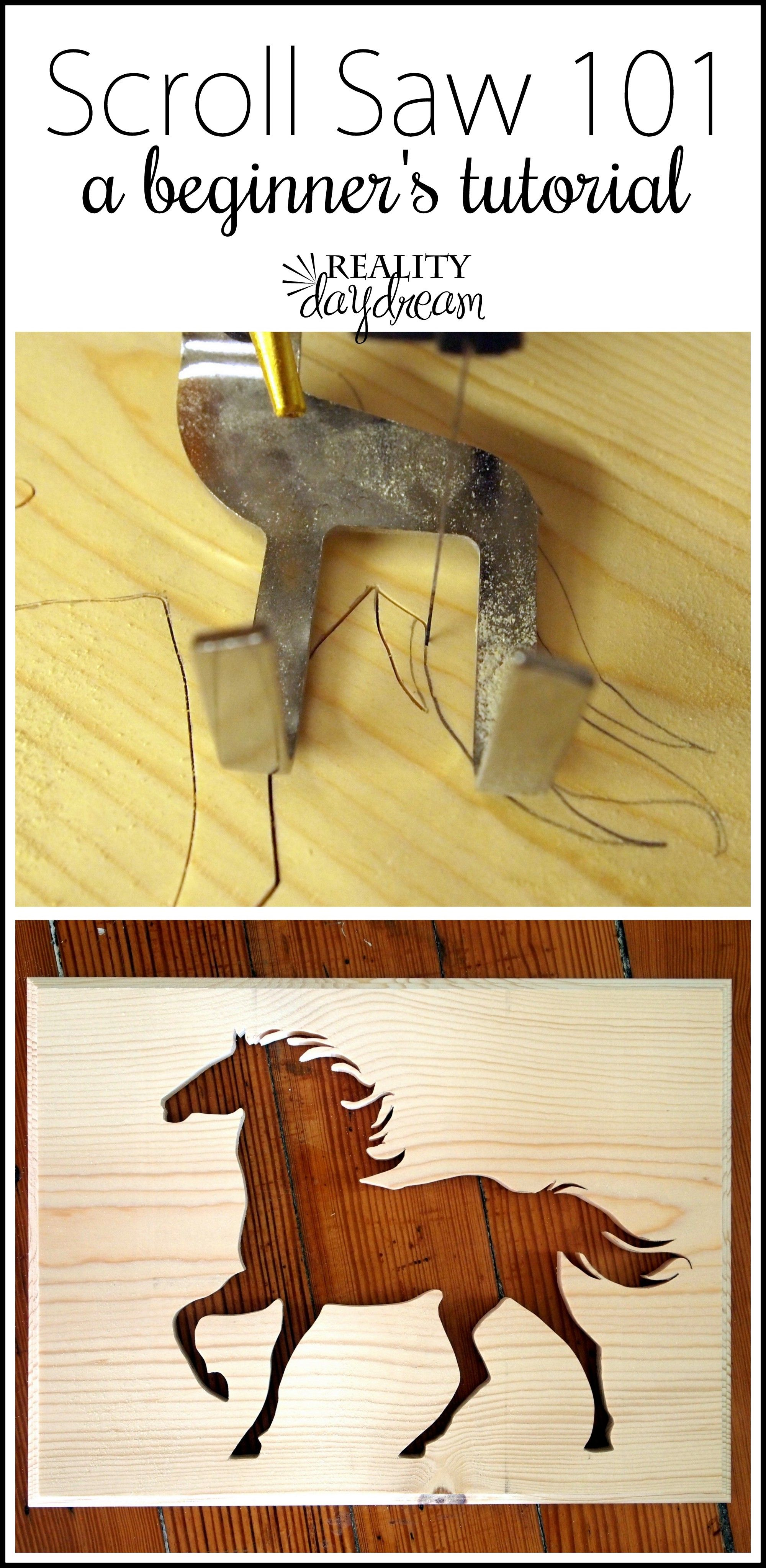 How To Create A Silhouette Using A Scroll Saw Projects