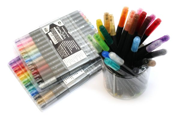 Copic Atyou Spica Micro Glass Glitter Pen 12 Color Set A