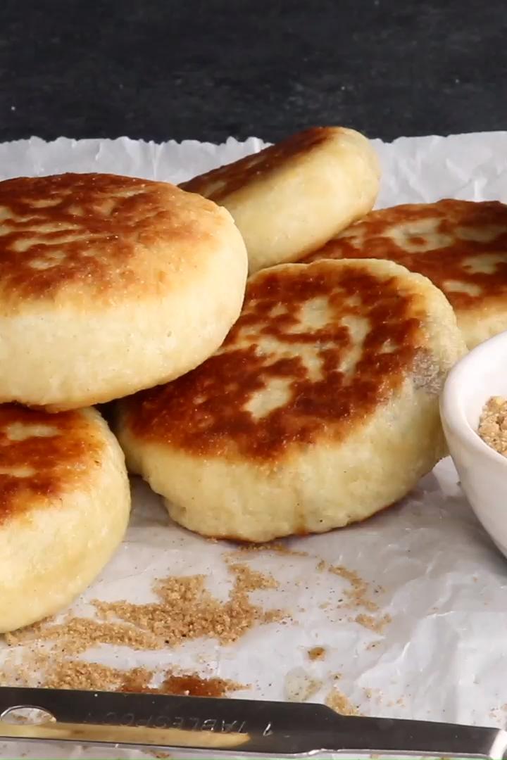 Hotteok Recipe (Sweet Korean Pancakes)