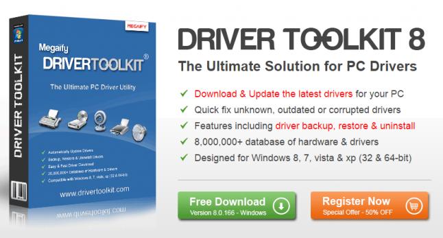 Driver Toolkit 8 5 Serial Key [Crack + Keygen] Free Download