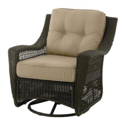 Country Living Concord Swivel Glider Patio Chair