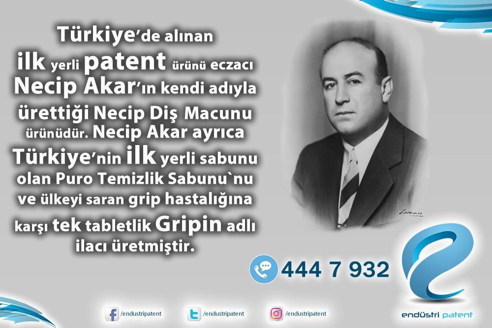 Turkiye De Ilk Patent Sahibi