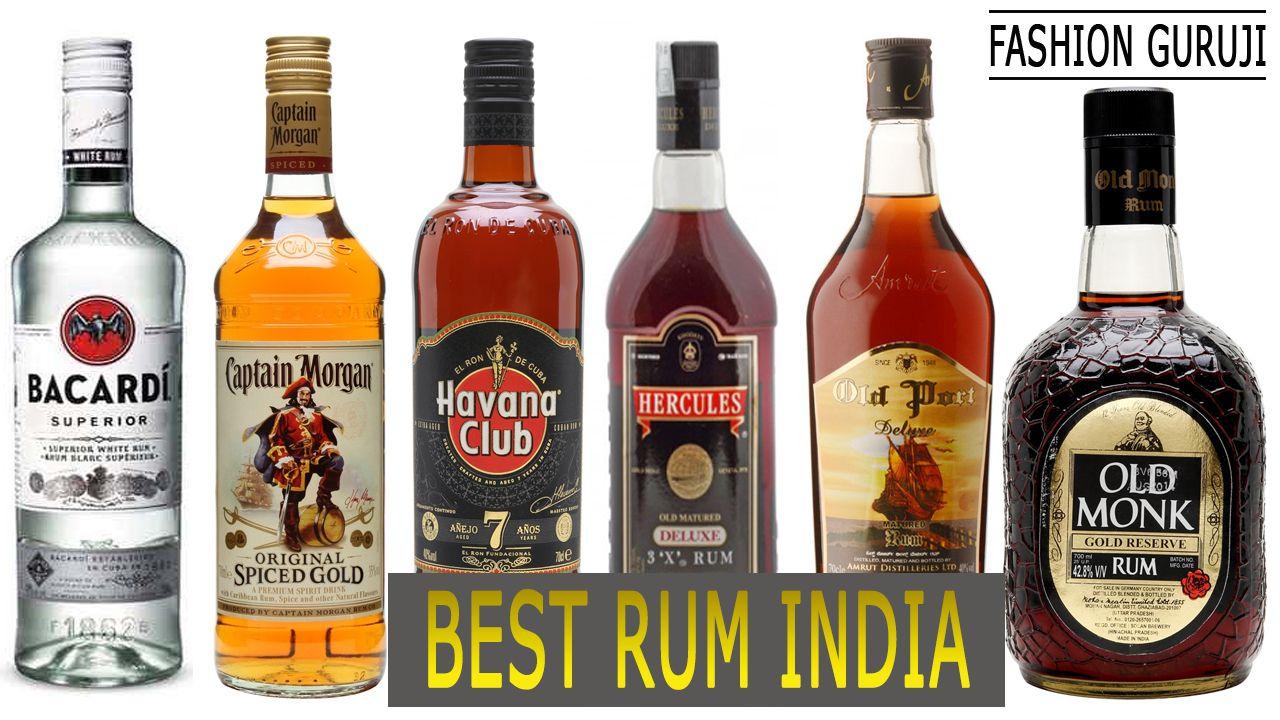 Top 10 Best Rum Brands With Price In India 2020 Good Rum Best