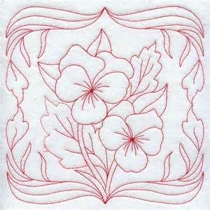 art nouveau redwork - - Yahoo Image Search Results