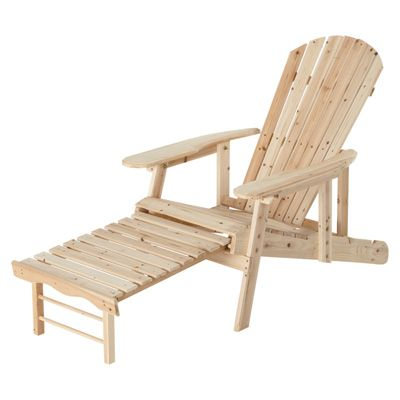 Stonegate Designs Adjustable Wooden Adirondack Chair Model ...